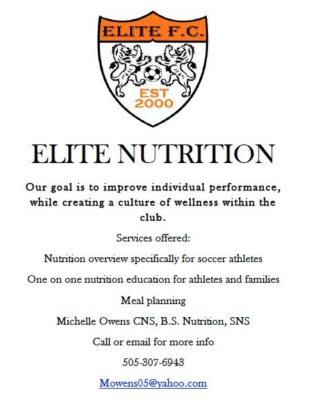ELITE NUTRITION