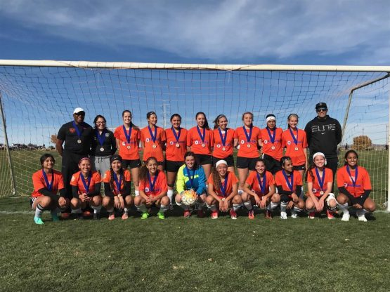 Congratulations Elite FC Brasil U18 Girls 2017 Gaylord Sheppard Champions!